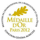 medaille d or 2012