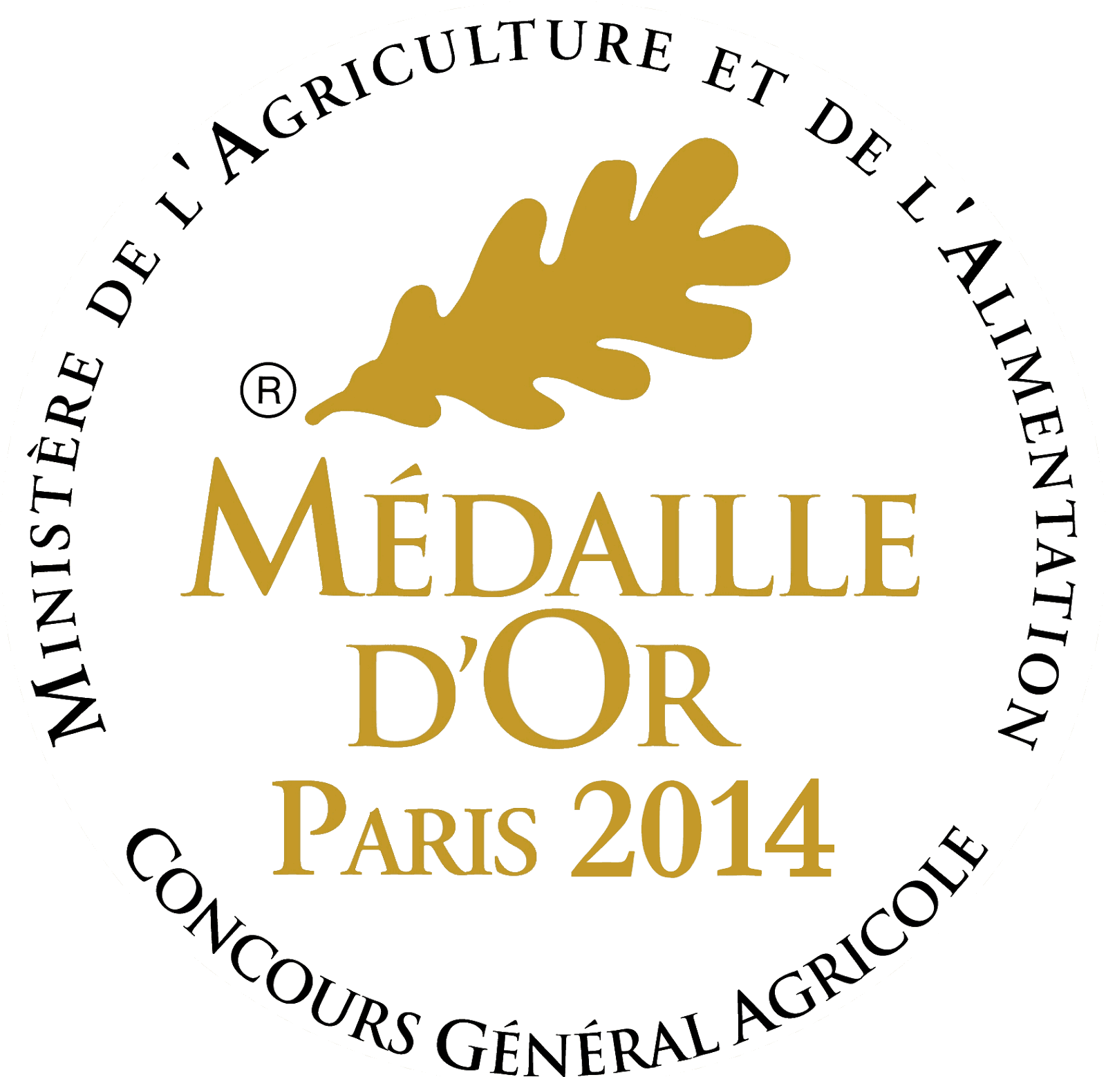 medaille d or 2014